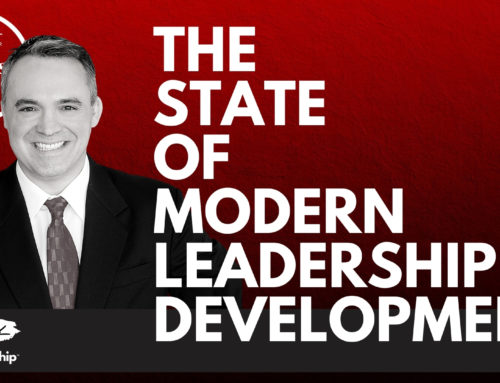 New podcast! Episode 19 – The State of Modern Leadership Development